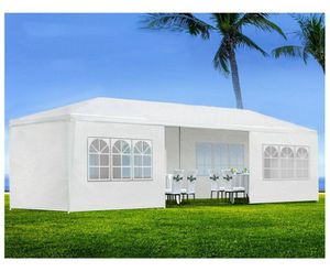 10'x30' White Outdoor Wedding Party Tent Patio Gazebo Canopy with Side Wall for Sale in Brooklyn, NY