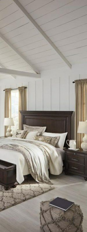 ON DISPLAY!!🆕Best Deal !! SPECIAL] Brynhurst Dark Brown Storage Bedroom Set byAshley for Sale in Columbia, MD