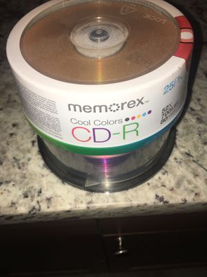 Cd and dvd rewritable discs for Sale in Marysville, WA