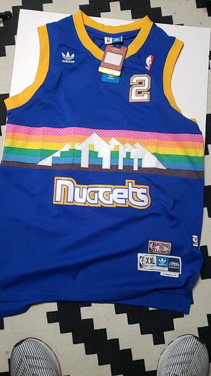 Vintage Adidas Denver's nuggets basketball Jersey for Sale in Goodyear, AZ