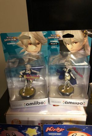 Corrin player 1 and 2 Amiibo for Sale in La Puente, CA