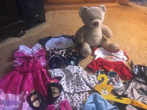 Classic build a bear,-and lots of accessories for Sale in Alpine, CA