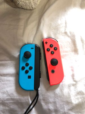 Joycons for Nintendo Switch and Grip Controller for Sale in Oak Lawn, IL