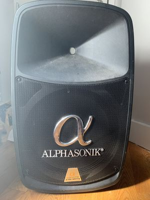 Alphasonik 2700 Watt speaker for Sale in Valley Stream, NY