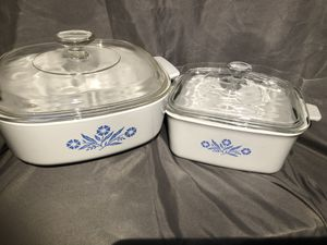Set of (2) coring ware casserole dishes for Sale in Kennewick, WA
