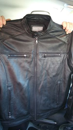 Michael Kors Leather Jacket for Sale in West Valley City, UT