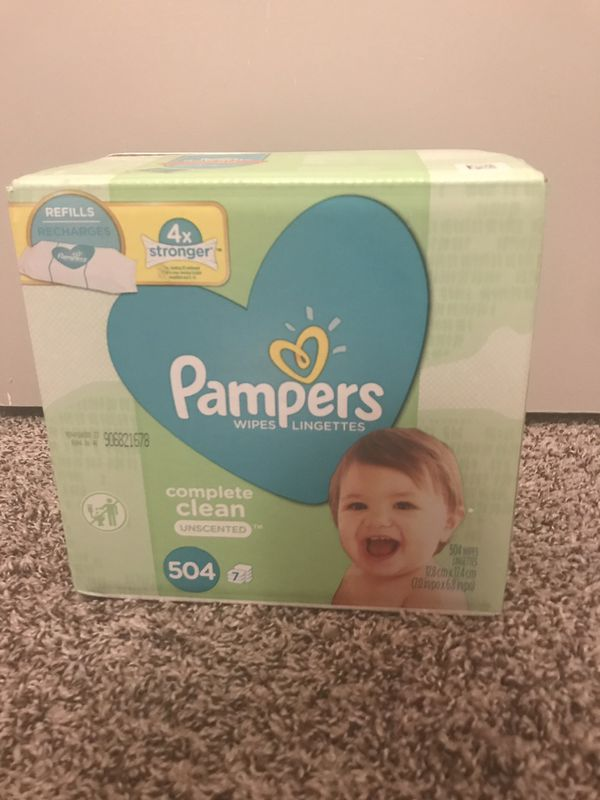Pampers Refill Wipes 504ct
