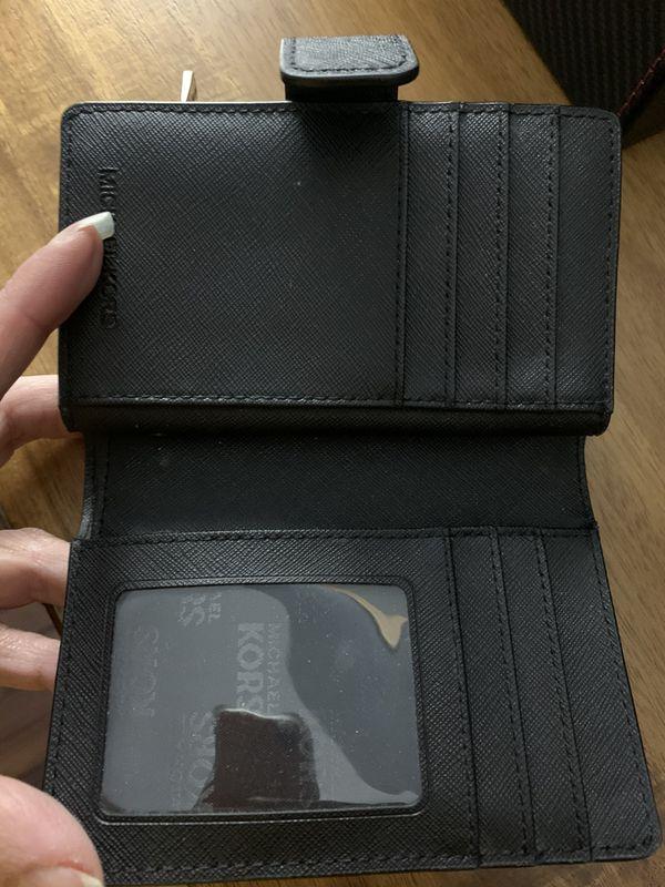 Michael Kors women's black wallet