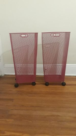 Rolling Wire Storage Bins for Sale in Columbus, OH