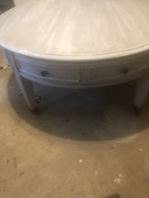Shabby, lightly distressed coffee table. Grey undertones for Sale in Fairfax Station, VA