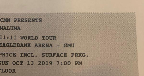 Maluma Concert Tickets