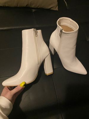 White boots for Sale in Edmonds, WA