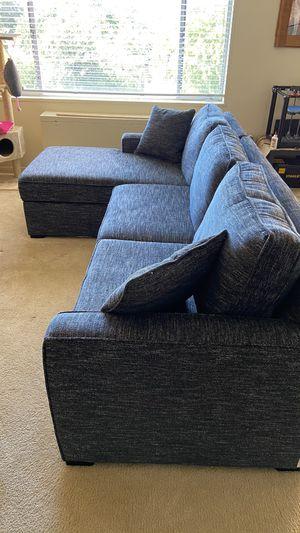 Sofa with storage for Sale in Arlington, VA