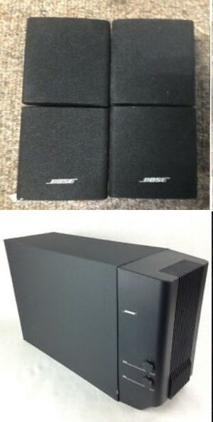 BOSE SUB MODULE WITH 4 CUBE SPEAKERS for Sale in Moapa, NV