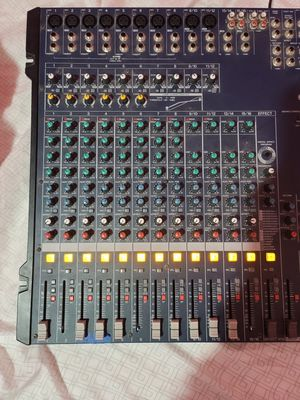 Yamaha MG 166 CX 16 Channel Mixing console for Sale in Dallas, TX