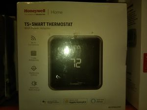 New Smart Thermostat, Honeywell T5, with WIFI conectivity, 7 day scheduling, Geofencing Control, heat/cool auto change. for Sale in Bakersfield, CA