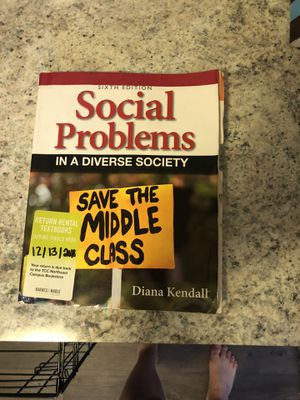 Social problems in a diverse society for Sale in Bedford, TX