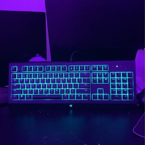 Razer - Cynosa Chroma Wired Gaming Membrane Keyboard with RGB Back Lighting - Black for Sale in Weston, FL