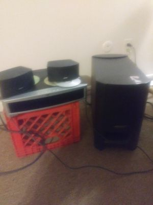 Bose sound system w/Amplifier for Sale in Detroit, MI