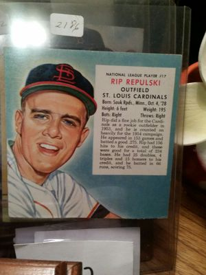 1953 and 54 Redman baseball cards for Sale in Round Rock, TX