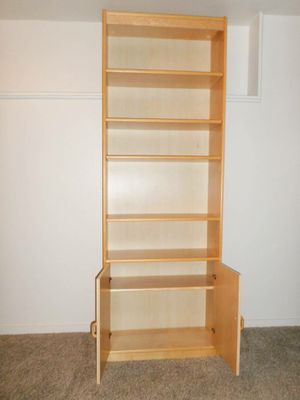 Super Tall Danish Style Bookcase. Delivered. for Sale in Tacoma, WA