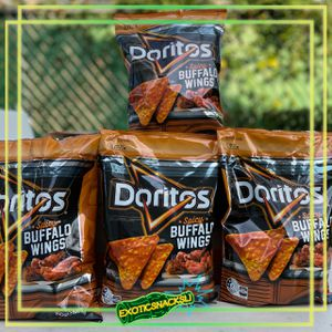 NEW Doritos Spicy Buffalo Wings Flavour Corn Chips 150g Bag LIMITED EDITION! for Sale in Bay Shore, NY