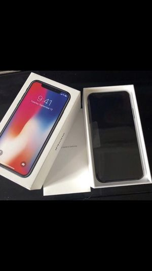 iPhone 10 get it while u can for Sale in Eagle River, WI