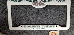 2 Disney Animal Kingdom License plate frames for Sale in Brighton, CO