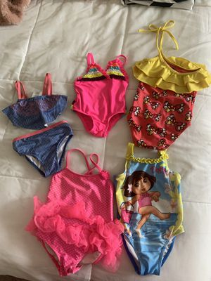 Swim diapers and toddler girls bathing suits for Sale in Trenton, NJ