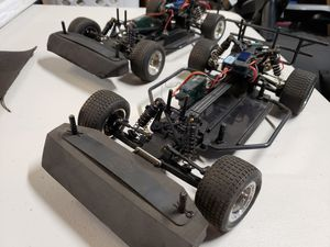 Losi 1/18 scale dirt oval racers rc cars for Sale in Manteca, CA