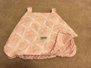 Baby Girl car seat cover $10 firm! for Sale in Lexington, NC