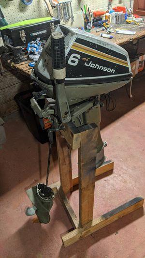 Johnson 6hp Outboard Motor for Sale in Seattle, WA