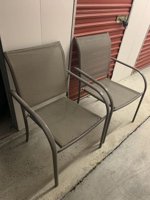 Outdoor Patio Pool Deck Chairs for Sale in Atlanta, GA