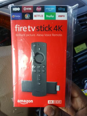 Fire tv stick 4k brand new for Sale in Houston, TX