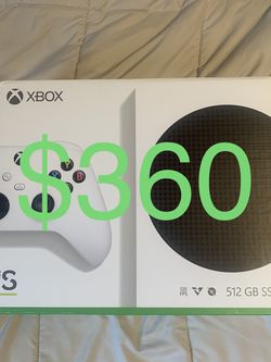 Selling A Brand New Xbox Series S It's Brand New Never Opened Xbox Series S Buy from a Trusted Seller for Sale in Fullerton,  CA