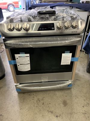 """Slide stove gas range convection oven LG stainless steel 30"""" for Sale in West Covina, CA"""
