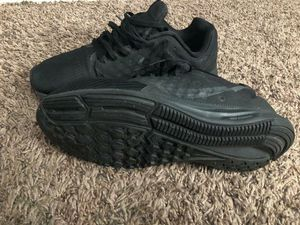 Black nike shoes size 10 women for Sale in Phoenix, AZ