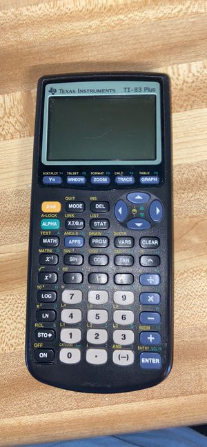 TI-83 Plus Graphing Calculator for Sale in Winter Haven, FL