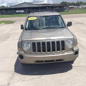 08 Jeep Patriot for Sale in Tampa, FL