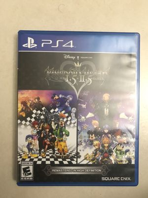 Kingdom Hearts 1.5 + 2.5 Remix PS4 for Sale in Medley, FL