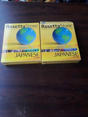 New Loretta stone Japanese level 1 & 2 for Sale in Auburn, WA