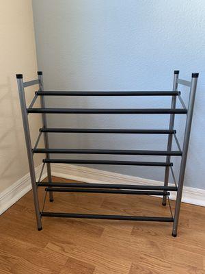 Shoe Rack - Closet / Home Organization - Matte Black for Sale in Winter Garden, FL