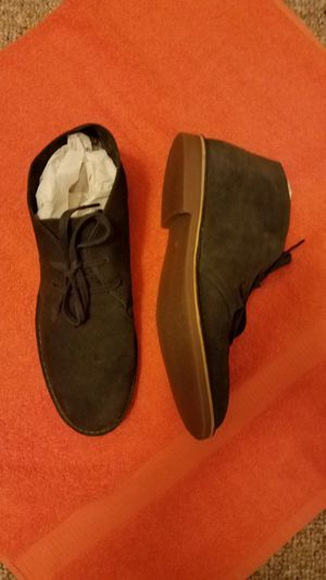 "REDUCED :AVAILABLE : MENS "" SUPPLY LAB"" LEATHER SUEDE ANKLE BOOTS. / S.10 for Sale, used for sale  Lincolnton, NC"