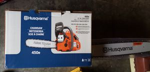 """Husgvarna 450e chainsaw 20""""bar brand new for Sale in Federal Way, WA"""