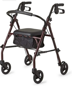 Healthcare Direct 100RA Steel Rollator Walker with 350 lb. Weight Capacity, for Sale in Loveland, OH