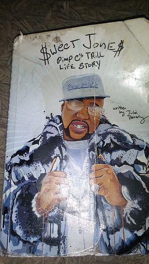 Sweet James Jones Pimp C Life Story book for Sale in Houston, TX