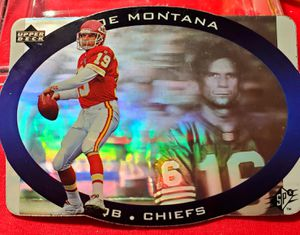 Joe Montana 95 Upper Deck SPX2 Hologram for Sale in Asheboro, NC