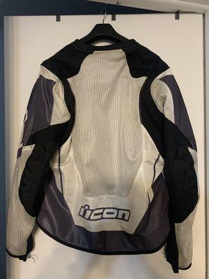 Icon Anthem 2 Motorcycle Jacket. Sz M for Sale in Westland, MI