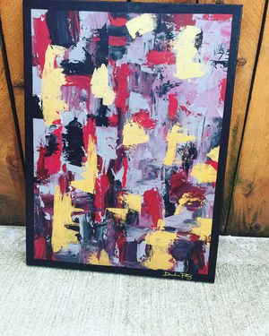 "Abstract ""18x24"" Art painting for Sale in Oak Park, IL"