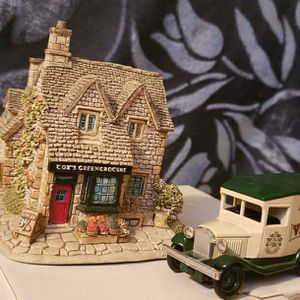 "Lilliput Lane ""Cox's Greengrocer"" with toy van for Sale in Fairfax, VA"